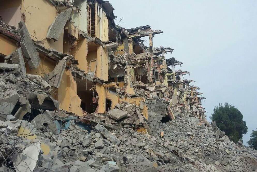 rozbiórka budynków